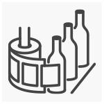 Verso di impaginazione etichette Applicazione con macchine etichettatrici| tictac.it