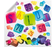 Set adesivo promozionale CUBES | tictac.it