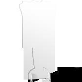 Sagomato personalizzato in polionda 10mm con piedini | tictac.it