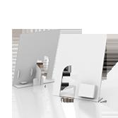 Espositore bottiglia in cartone con tasca - Display Bottiglia 2 | tictac.it