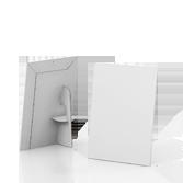 Display vetrina monofacciale in cartone A4 verticale | tictac.it