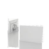 Display vetrina monofacciale in cartone A5 orizzontale | tictac.it