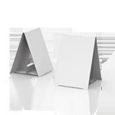 Display bifacciale in cartone h195 mm | tictac.it