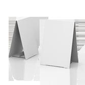 Display bifacciale in cartone h290 mm | tictac.it