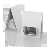Porta volantini in cartone ondabassa h 330mm - Mela 4 | tictac.it
