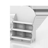 Portaprodotti da banco con 3 ripiani - Cedro 2 | tictac.it
