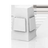 Distributore volantini da banco con 4 tasche porta volantini h500 mm - Fragola | tictac.it