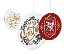 Rotair bifacciali in cartone a tema natalizio | tictac.it