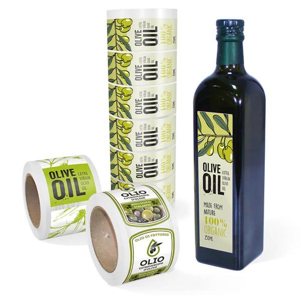 Etichette per olio | tictac.it