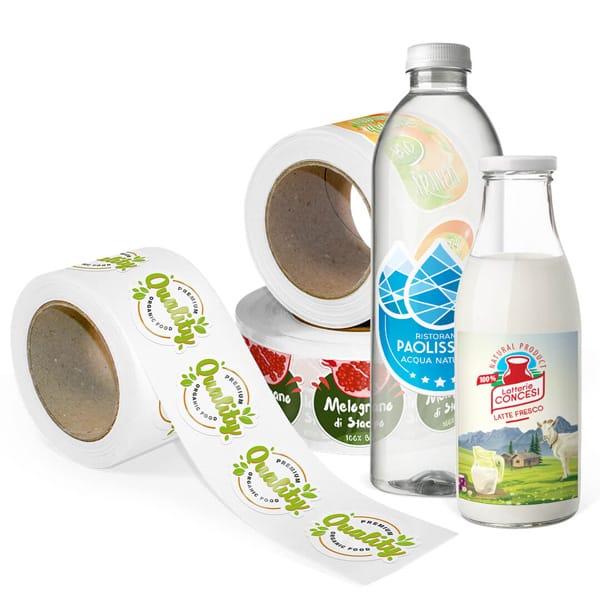 Etichette per bottiglie | tictac.it