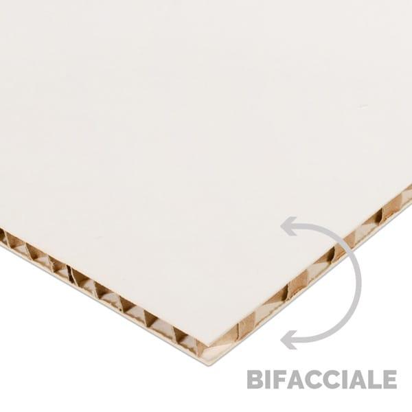 Nidoboard bianco 10 mm bifacciale | tictac.it