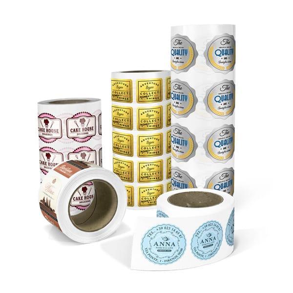 Etichette adesive personalizzate - tutti i materiali | tictac.it