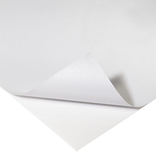 Adesivo vetrofacile EasyTac bianco con microventose | tictac.it