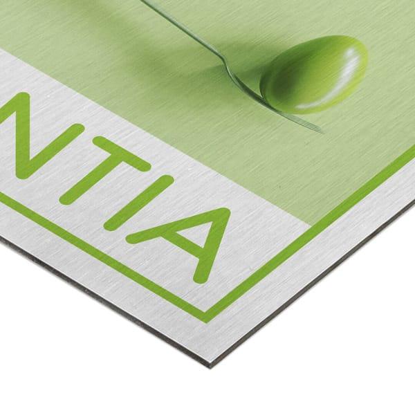 Dibond® spazzolato 3 mm con grafica personalizzata | tictac.it