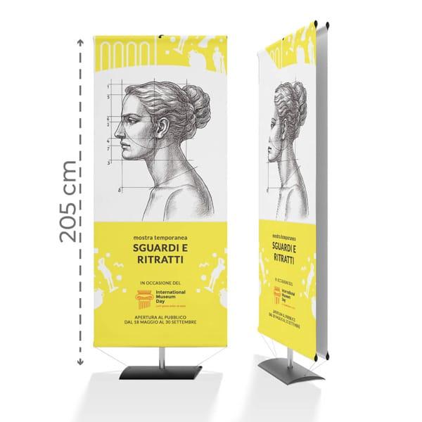 Display Pinocchio - 80xh205 con grafica personalizzata | tictac.it