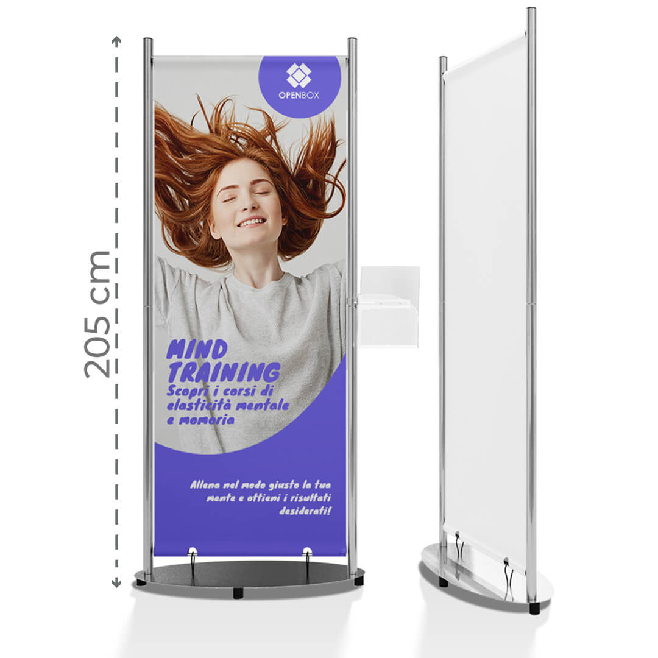 Display Alexander - 86xh205 con grafica personalizzata | tictac.it