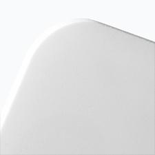 Display PVC doppio A4 orizzontale bianco