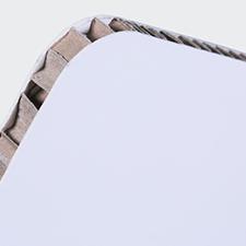 Nidoboard 10 mm bianco
