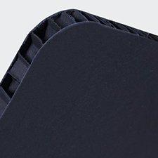 Germano A4 verticale nero (con bianco retrostampa)