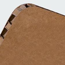 Rodolfo A4 orizzontale avana (con bianco retrostampa)