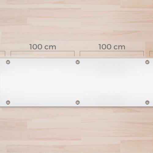 Occhielli zincati diam. 2,4cm ogni 100cm
