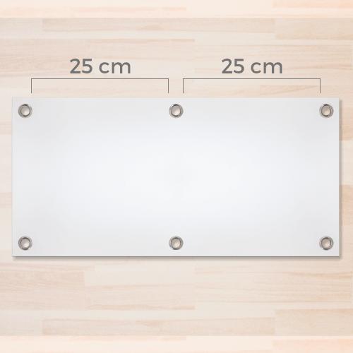 Occhielli zincati diam. 2,4cm ogni 25cm