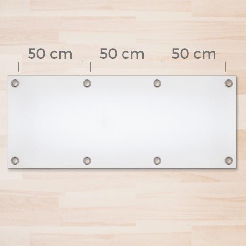Occhielli zincati diam. 2,4cm ogni 50cm
