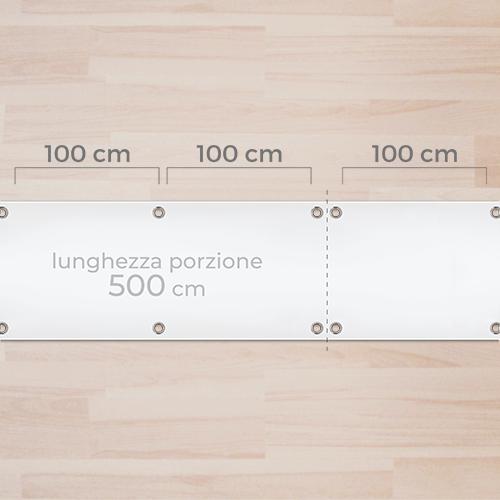 Occhielli a misura su 500cm (50m)