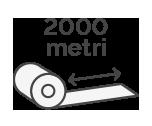 2000 m x H 8 cm