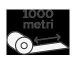 1000 m x H 8 cm