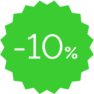 Promo -10% verde