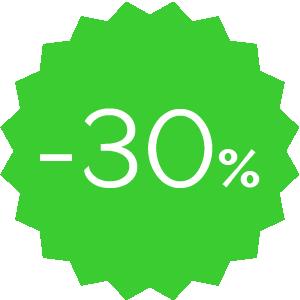 Promo -30% verde