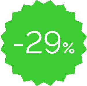 Promo -29%verde