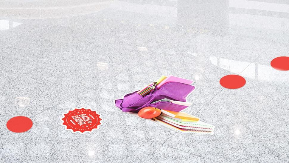 Adesivi calpestabili rimovibili | tictac.it