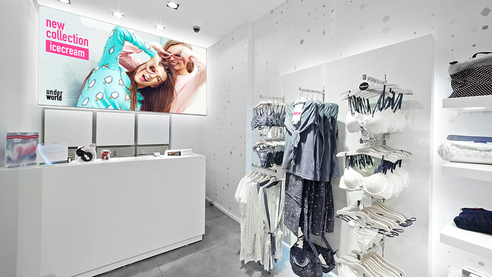 Tessuto da lightbox per negozi | tictac.it