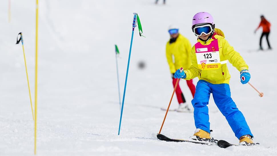 Pettorine da sci per bambini | tictac.it