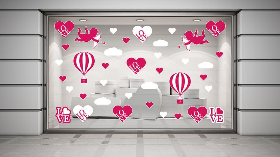 Set adesivi prestampati per San Valentino | tictac.it