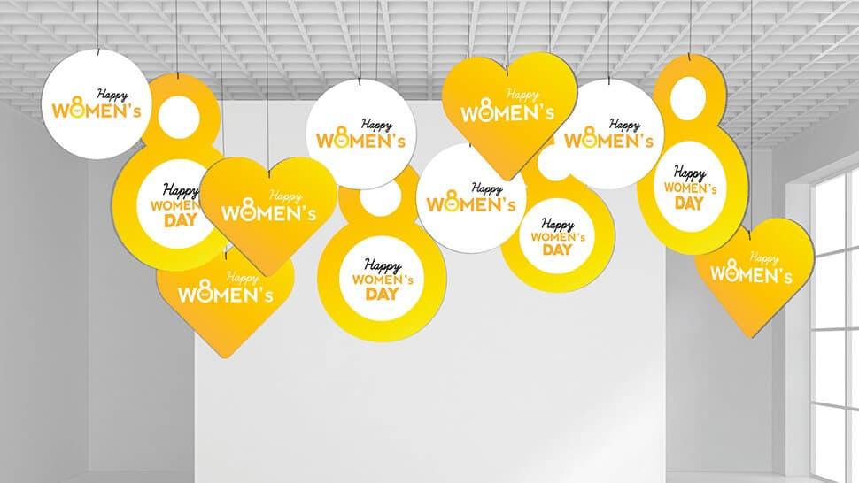Set Rotair prestampati per la Festa della Donna | tictac.it