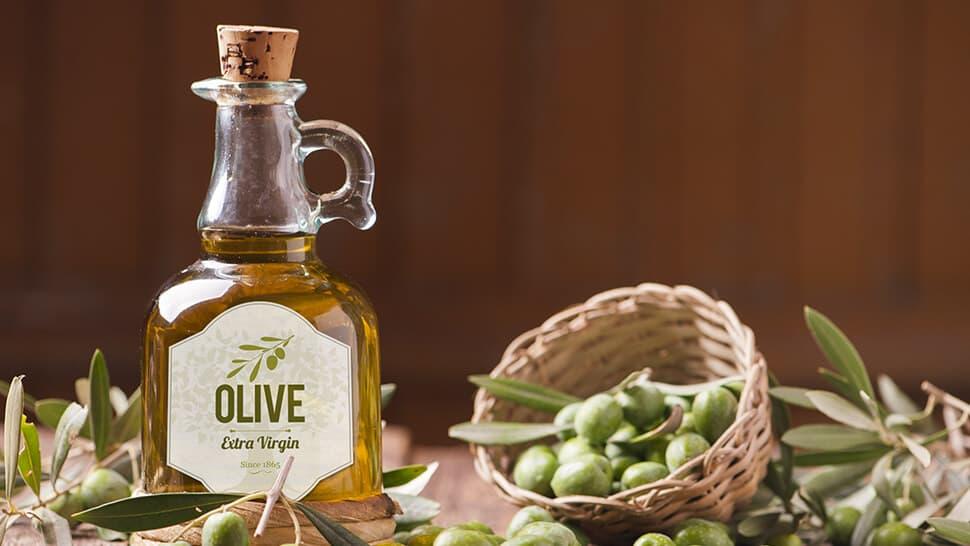 Etichetta per bottiglie d'olio | tictac.it