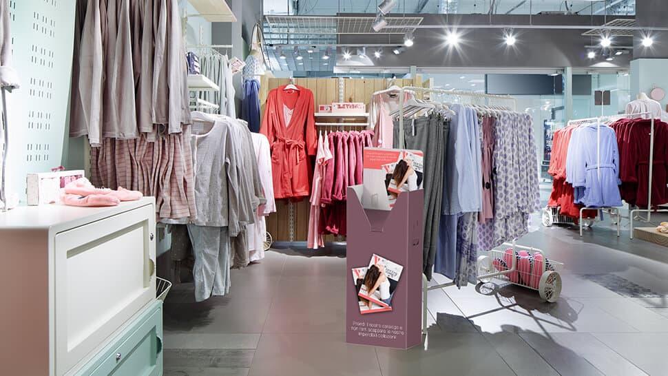 Raccoglitore prodotti per negozi | tictac.it