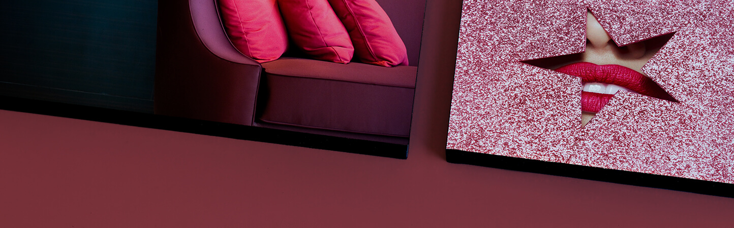 stampa foto su pannelli con bordatura nera, ideali rinnovare ambienti | tictac.it