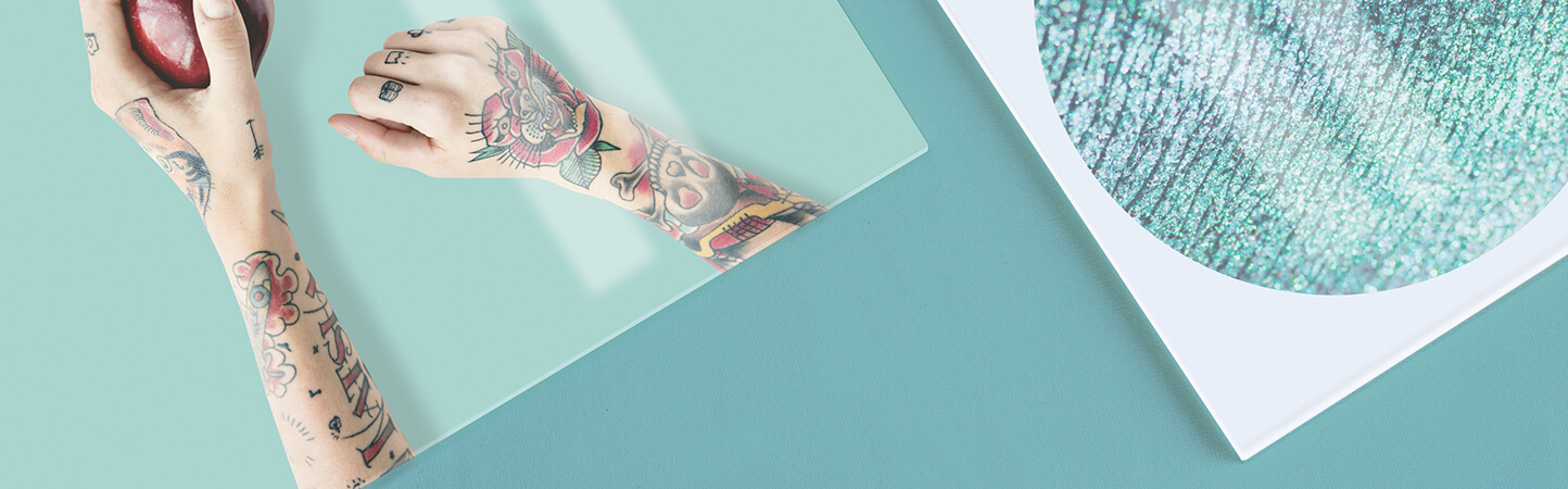 stampa foto e grafiche personalizzate su vetro acrilico | tictac.it