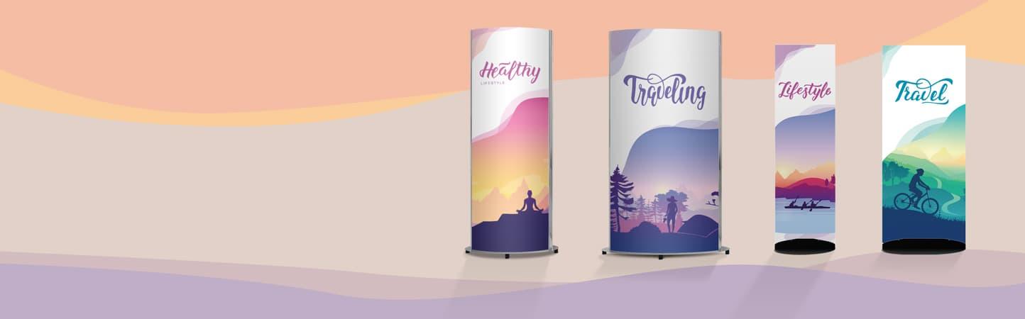 Display pubblicitari per uffici, negozi, eventi | tictac.it