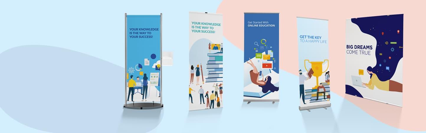 Roll up e avvolgibili ideali per messaggi promozionali | tictac.it
