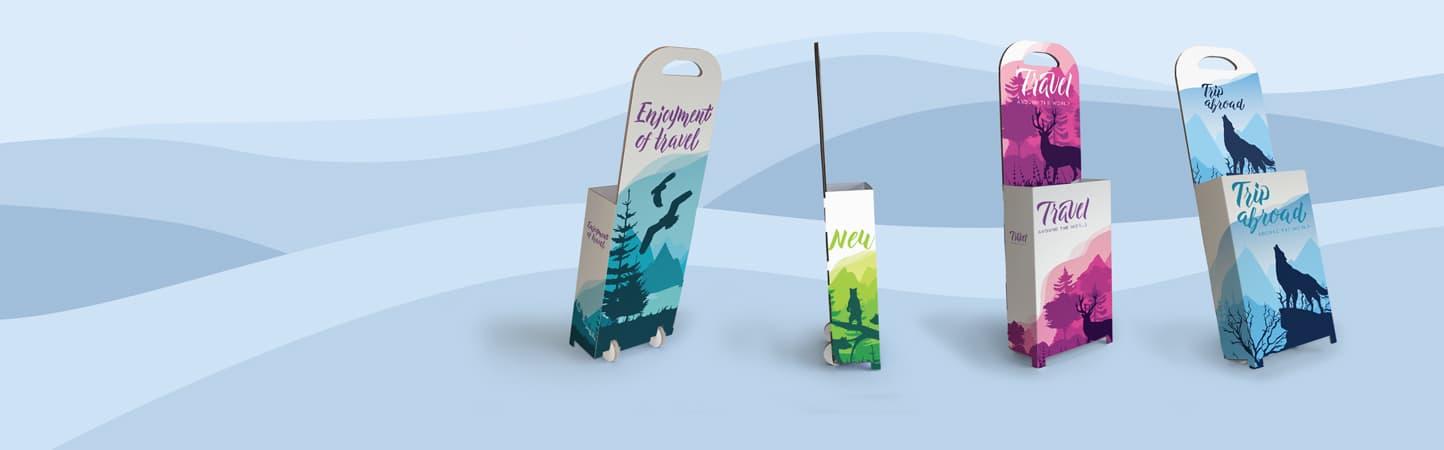 Trolley in cartone ideali per fiere e gadget | tictac.it