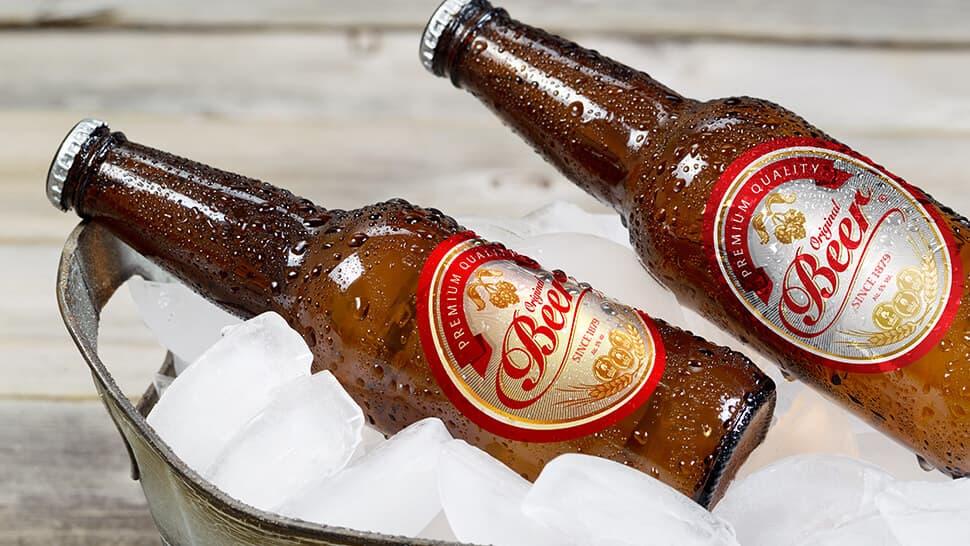 Etichette per bottiglie di birra resistenti ad acqua e ghiaccio | tictac.it