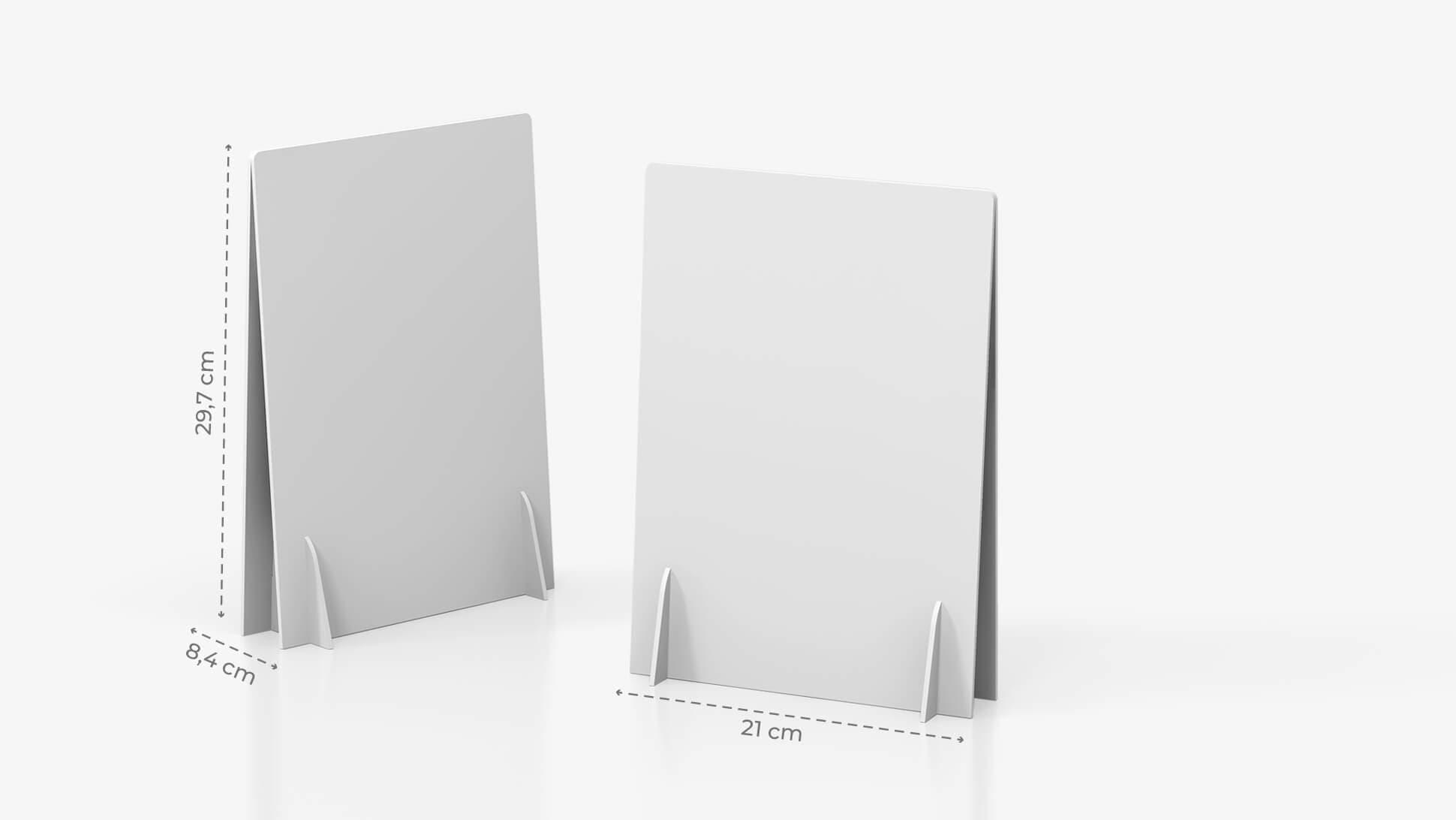 Display doppio A4 personalizzabile | tictac.it