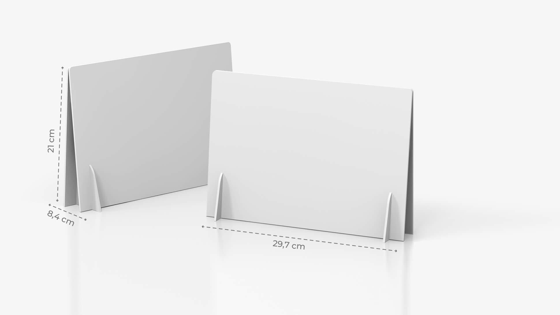 Display doppio A4 orizzontale personalizzabile | tictac.it