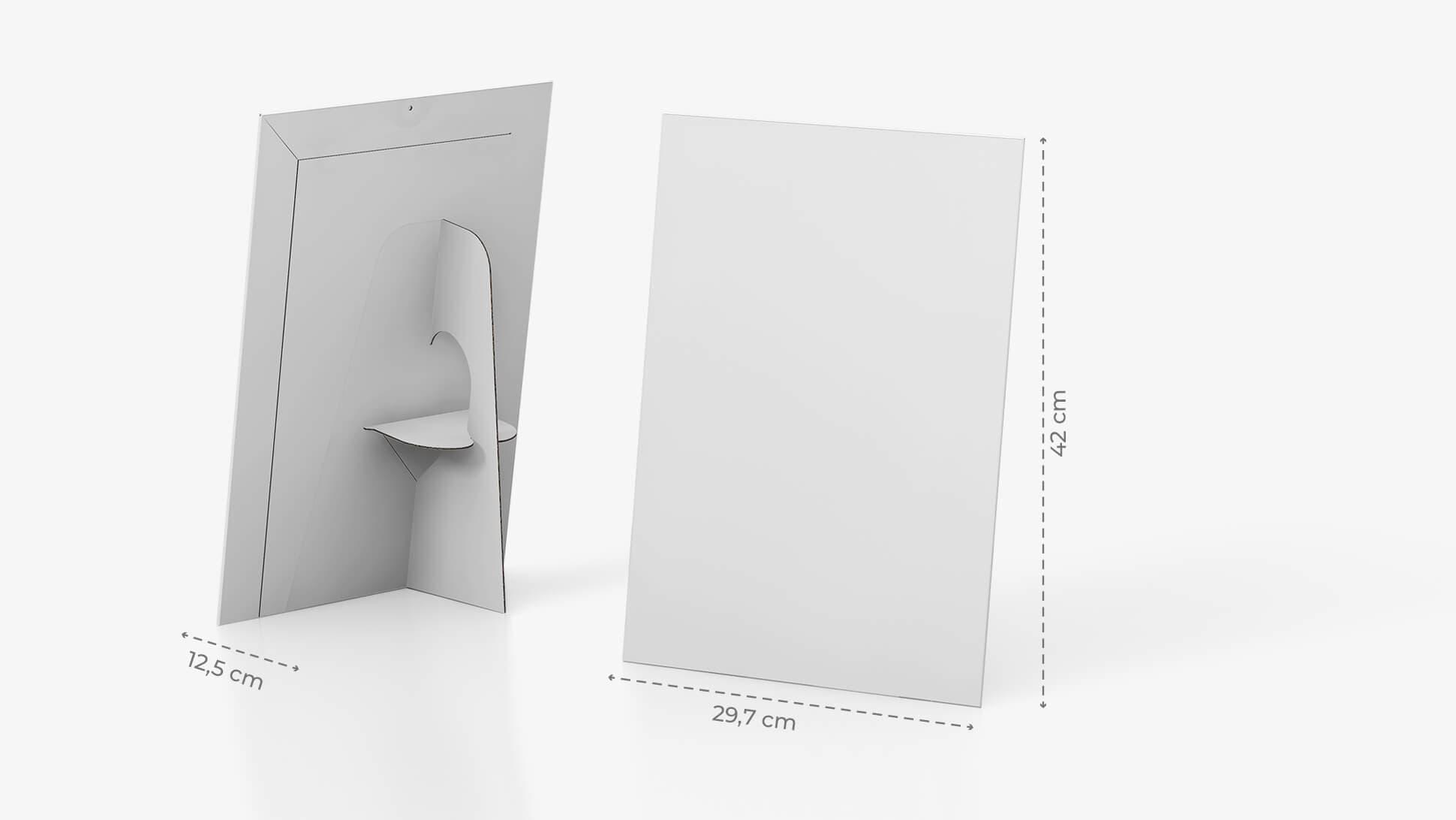 Display monofacciale 70x49 cm personalizzabile | tictac.it
