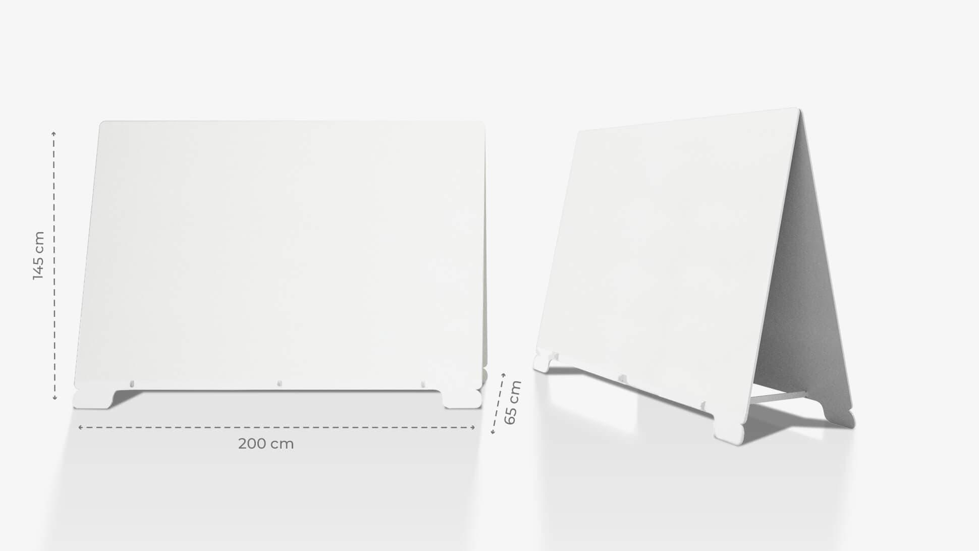 Cavalletto in polionda 145x200 cm personalizzabile | tictac.it